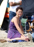 Джессика Строуп, фото 968. Jessica Stroup Filming '90210' on Redondo Beach in Los Angeles - 17.08.2011, foto 968