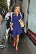 Иванка Трамп, фото 689. Ivanka Trump walks into the Today show in New York City - 18.08.2011, foto 689