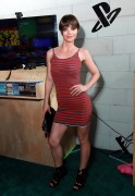 Christina Ricci - Playstation Living Room after party 10/09/'11 (leggy, in a tight dress)
