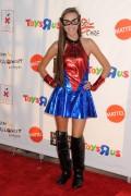 Rachel K. Bell & Savannah Jayde in thier Halloween Costumes 10/31/11