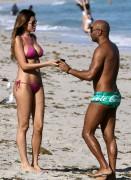 Aida Yespica sexy bikini candids