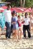 Rihanna rend visite à des amis en Barbade. 8c33f5167206219