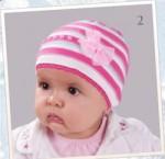 TuTu, шапочка для девочки, размеры 44-48, 48-52, 52-56, цвет белый...
