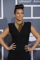Алиша Киз (Алисия Кис), фото 3087. Alicia Keys 54th annual Grammy Awards - 12/02/2012 - Red Carpet, foto 3087