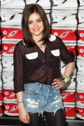 Люси Хейл, фото 570. Lucy Hale Launch of Converse's new West Coast Flagship Store in Santa Monica - February 15, 2012, foto 570