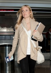 Кристин Каваллари Кавалери, фото 4684. Kristin Cavallari Cavalleri at Los Angeles International, february 19, foto 4684