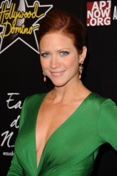 brittany snow cleavage