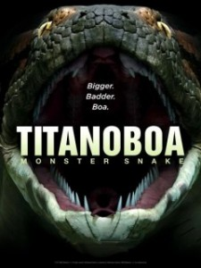 Download Titanoboa Monster Snake (2012) DVDRip 350MB Ganool