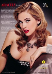 Aracely Arambula x1 People en Espanol June, 2009