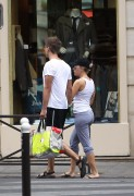 Scarlett Johansson - booty shots while out and about in Paris 08/20/12