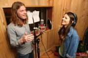 "Victoria Justice - In The Studio Recording ""Make it Shine"" (2010) - (11xHQ, tagged)"