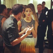 Ashley Greene, September 8, 2012 At Alexandre Birman's Presentation of Fall '12 Collection at Saks, New York