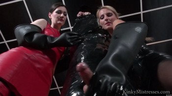 Milked with Rubber Gloves
